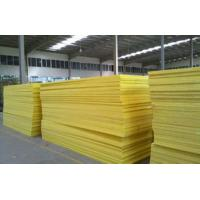 Quality 50mm Flame Resistant Glass Wool Pipe Insulation For External Walls for sale