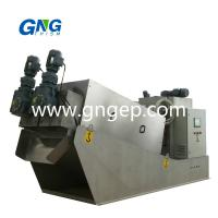 Buy cheap Factory supply eminent swivel clog free cow dung manure dewatering machine from wholesalers