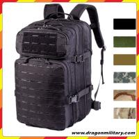 Buy cheap 2017 hot sale black New style molle system tactical backpack from wholesalers