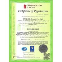 CN Cable Group Co., Ltd. Certifications