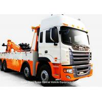 Quality JAC Integrated Recovery Tow Truck , Car Recovery Truck Boom Max Lifting 20 Ton for sale
