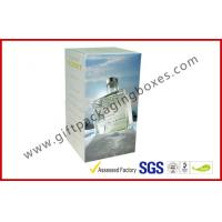 Quality Coated Paper 200gsm Rigid Gift Boxes , Custom Printed France Wine Packaging Boxes For Gift for sale