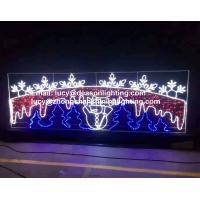 China LED Decoration Light Christmas Sculpture Across Street Light on sale