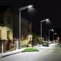 China All in one solar garden light PIR motion sensor with remote control  street solar lights on sale