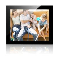 Quality 17 Inch Mirror Cover Desktop Digital Photo Frame With 1024*768 Resolution for sale