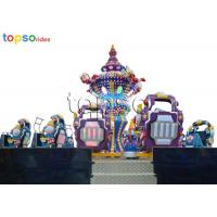 Quality Funfair Amusement Park Rides 24 Seat Crazy Dance Ride Thrill Outdoor Rides for sale