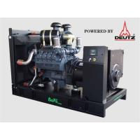 Standby Power 110 KVA Open Type Diesel Generator With High Temperature Radiator