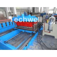 Quality High Speed Metal Tile Cold Roll Forming Machine With Servo Flying Cutting Type for sale