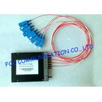 Quality MUX / DEMUX Wavelength Division Multiplexer Module For Telecom Networks , High Stability for sale