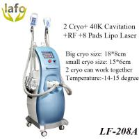 Quality 5 in 1 Multifunction Cavitation RF Lipo Laser cryolipolysis beauty device for salon use for sale