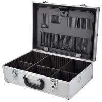 Quality Electricians Aluminium Case Flight Tool Box Organiser for sale