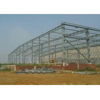 Quality Lightweight Steel Structure Workshop Earthquake Resistant Wide Span Customized for sale