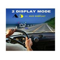 Quality 3.5 Inch Audi A5 GPS HUD Heads Up Car Display Two Display Mode Multi Color Auto Power On / Off for sale