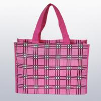 China 100% polyester, 14 gauges stitchbond nonwoven fabric for shopping bag, tote bag, etc. on sale