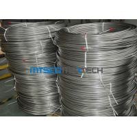 China EN10216 - 5 Seamless Coiled Stainless Tube Bright Annealed / Pickled Surface for sale