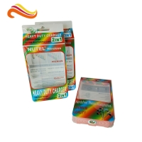 China Charger Cable 0.50mm PET Plastic Clamshell Box CMYK on sale