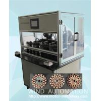 China Four station ventilator coil winder ceiling fan winding machine with servo system WIND-CFW on sale