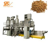 Quality Dry Wet Pellet Pet Feed Processing Plant Extrusion Machine For Dog Food for sale