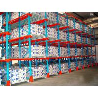High Efficiency Radio Shuttle Racking System Remote Distance 100M For Automatic Warehouse
