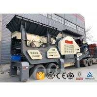Quality Ship Type Frame Mobile Crushing And Screening Plant For Construction Waste for sale