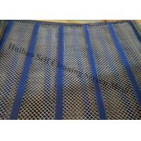 China Carbon Steel Self Cleaning Screen Mesh For Separating Wet And Moist Materials on sale
