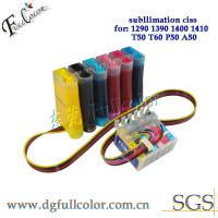 China PP CISS Continuous Ink Supply System With laster version combo chip for Epson 1390 printer on sale
