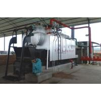 Quality High Pressure Biomass Wood Boiler 10 T / H 20 ℃ Water Inlet Temperature for sale