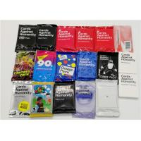 Quality Multi Styles Adult Card Games Cards For Humanity Fashionable Design for sale