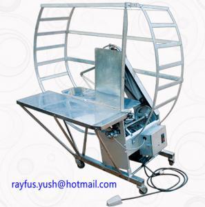 Quality Automatic Carton Box Stitching Machine / Tape Tying Machine Save Labor for sale