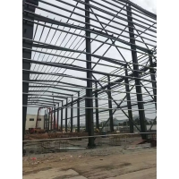 Quality Portal Single Cladding Workshop Steel Structure High Strength Bolts Connecting for sale