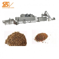 Quality Supply Floating Fish Feed Pellet Machine / Grass Fish Feed Machines / Pet Food Extruder Model for Factory for sale