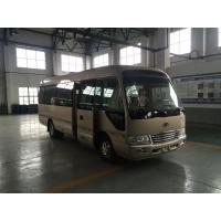 China Sunroof 145HP Power Star Minibus 30 Passenger Mini Bus With Sliding Side Window on sale