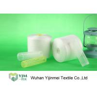 Buy High Strength 40/2 Virgin Spun Polyester Yarn Raw White For Sewing Thread at wholesale prices