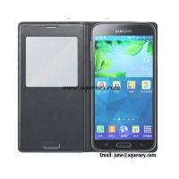 Quality Back leather cover, View Flip Cover for Samsung Galaxy S5 I9600 Multi-Color for sale
