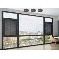 Quality Anti Theft Double Glazed Sliding Doors Shock Resistant For Seal Balcony for sale