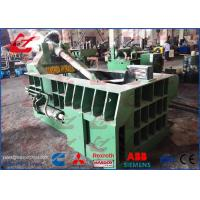 Quality Aluminum Sheets Scrap Metal Baler Compactor With 125 Ton Press force for sale