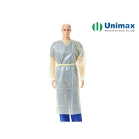 Quality Unimax Medical 3XL 40gsm Disposable Isolation Gowns for sale