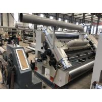 Quality High Performance Single Facer Line 1800mm Steam Heating For 2 Ply Cardboard for sale