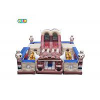 Quality Capacity 32 Kids Inflatable Bounce House Combo Customized Size With Blower for sale