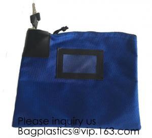 China Locking Security Money Bag, Cash Bag,Bank Bag Canvas Keyed Security,Money Bag with Key Lock Keyed Security, security bag on sale