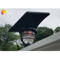 Quality Rohs CE COC Solar Powered Pole Lights Garden Mailbox Lamp With Lithium - Ion Battery for sale