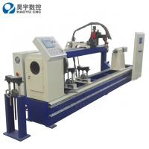 Quality High Quality Jinan Haoyu Hydraulic Cylinder Single Torch Circular Seam Welding Machine for sale