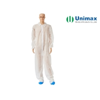 Quality Breathable PP Waterproof Disposable Coveralls for sale