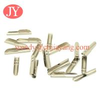 Quality gold plating color small size metal t tip metal barb for bungee for sale