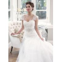 Quality China 2014 Latest Lace/Tulle Train Hotel Bridal Wedding Dress with White, Ivory for sale