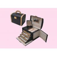 Quality Promotional Leather Wrapped Wooden Gift Boxes For Jewelry OEM for sale