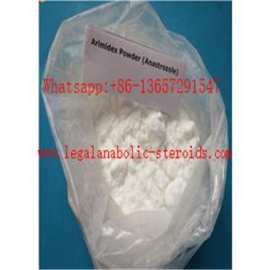 Quality Pharmaceutical Grade White Anti Estrogen Steroids Powder Anastrozole CAS 120511-73-1 99% Purity for sale