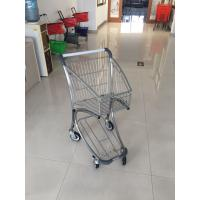 Quality Q195 Low Carbon Steel Supermarket Shopping Trolley Used In Airport Free Duty for sale