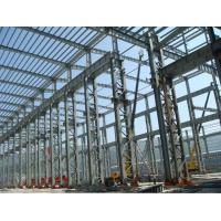 China Dual Arc Double Wire Welded Beams Fabricated Structural Steel Railway Station on sale
