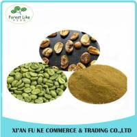 Quality Natural Pure Green Coffee Bean Extract Chlorogenic Acid 50% for sale